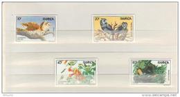 BUZIN / RWANDA 1985 / 200 EME ANNIVERSAIRE DE JJ AUDUBON / SERIE  COMPLETE / COB 1245-1248