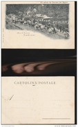 5035) CAVE DI CARRARA TRASPORTO MARMI UN SALUTO NON VIAGGIATA MA PRIMI ANNI 1900 - Carrara