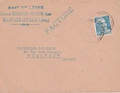 Enveloppe Commerciale 1948 ? / Simon BENOIT GONIN / Anc. LESNE / Confection / 39 Clairvaux Les Lacs / Jura - Cartes