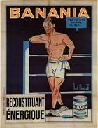 Banania Reconstituant Énergique - Postcard - Poster Reproduction - Advertising