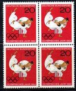 XP2102 - GERMANIA 1964 , Quartina Del N. 319  *** . JUDO TOKYO