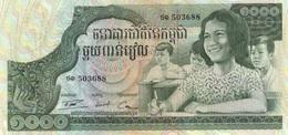 Camboya 1972, 1000 Riels (UNC) - CF2183 - Cambodia