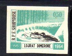 XP2072 - ALBANIA 1963 , Yvert  N. 667  Non Dentellato  ***  Bob - Albania
