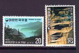Korea South MNH 1975  Beautyful Korea 2v. - Corée Du Sud