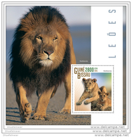 GUINEA BISSAU 2015 ** S/S Lions - Löwen A1508