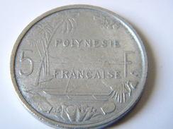 POLYNESIE FRANCAISE - 5 FRANCS 1965. - French Polynesia