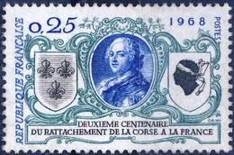 1572 RATTACHEMENT De La CORSE  ANNEE 1968 - Nuovi