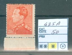 435 A  X