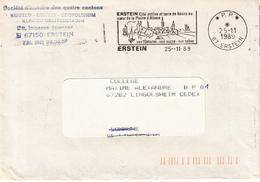 Env Obl OMEC 67 ERSTEIN * P.P. * Du 25.11.1989 - Alsace Lorraine