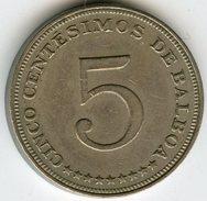 Panama 5 Centesimos 1966 KM 23.2 - Panama