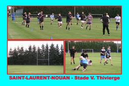 Saint-Laurent-Nouan (41 - France) Stade V. Thivierge (Rugby) - Rugby