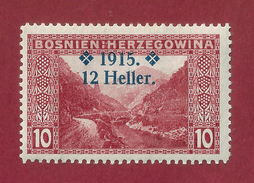 Bosnia - 12 H - 1915 - Bosnia Herzegovina