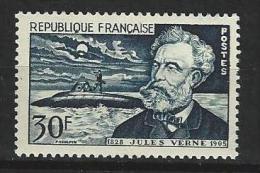 "FR YT 1026 "" Jules Verne "" 1955 Neuf* - Francia"