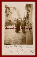 Salonique *  Carte Photo  * Rue St Demetré En 1917    ( Scan Recto Et Verso ) - Grecia