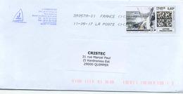 FRANCE - Mon Timbrenligne - Lettre Prioritaire - VOILIER Illustré - Obl Code ROC 39057A-01 Du 11/05/17