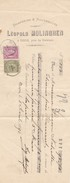 N° 46 Et 47   /  RECU  (Draperies Leopold Molinghen
