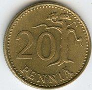 Finlande Finland 20 Pennia 1982 K KM 47 - Finlande
