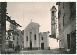 CORTE - L'Eglise Et Statue De Gaffory - Corte