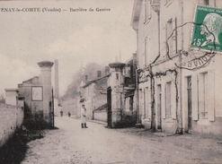 600A  FONTENAY   1925 ECRITE   VERSO - Fontenay Le Comte