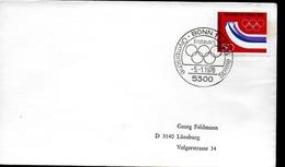 ALLEMAGNE   FDC  Jo 1976   Logo