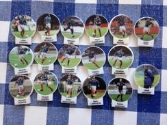 17 Fèves Serie Football FFF Equipe De France Les Rois Du Mondial 1998 Voir Photo - Sports