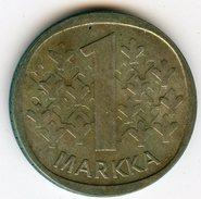 Finlande Finland 1 Markka 1967 S Argent KM 49 - Finlande