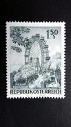 Österreich 1204 **/mnh, 200 Jahre Wiener Prater. - 1945-.... 2ème République