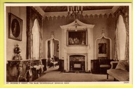 Cornwall - St. Michalel's Mount, The Blue Drawing Room - Photocrom Postcard - St Michael's Mount