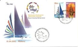 Turkey; FDC 2005 Sailing