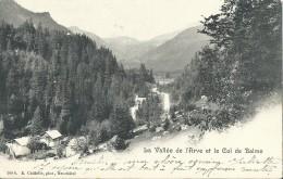 Chamonix La Vallée De L' Arve Et Le Col De Balme - Chamonix-Mont-Blanc