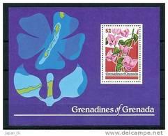 GRENADA - GRENADINES  Mi.Nr. Block  41 Blumen Flower- MNH