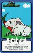 *SAN MARINO - OROSCOPO CINESE (7058)* -  2^ Emissione - Spezzatura NUOVA (MINT)