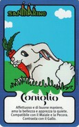 *SAN MARINO - OROSCOPO CINESE (7058)* -  2^ Emissione - Spezzatura NUOVA (MINT) - San Marino