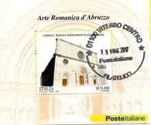 PIA  -  ITALIE  -  2010  : Arte Romanica In Abruzzo - Foglietto  -     (Yv  Bf 61 )