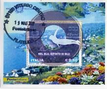 """PIA  -  ITALIA  -  2008  : """" Nel Blu Dipinto Di Blu"""" Di Domenico Modugno """" -   (Yv  Bf  53)"""