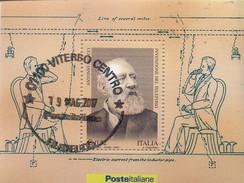 PIA - ITALIA - 2003 : Invenzione Del Telefono - (SAS  Bf  36) - 1946-.. République