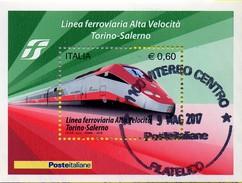 PIA  -  ITALIA  -  2010  : Completamento Della Linea Ferroviaria Ad Alta Velocità Torino-Salerno  -   (SAS  Bf  64)