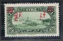 SYRIE N°189 N*  Variété Double Surcharge - Syrie (1919-1945)
