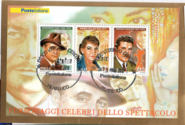 PIA  -  ITALIA  -  2007  : I Grandi Dello Spettacolo : Maria Callas, Beniamino Gigli E Amedeo Nazzari   -  (SAS Bf 52)