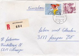R-Brief Von Villmergen Nach Laupen (br0980) - Schweiz