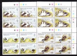 Falkland Islands Dependencies 1985 Albatross 4v Bl Of 4 (corner)  ** Mnh (35764) - Zuid-Georgia