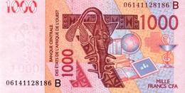 West African States - Afrique De L´ouest Bénin 2004 Billet 1000 Francs Pick 215 B Neuf 1er Choix UNC - Bénin