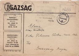 Postal History Cover: Romania With Machine Stamp From 1962 - Marcofilia - EMA ( Maquina De Huellas A Franquear)