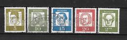 GERMANIA Germany N.  220-223-224-225-232A/US 1961