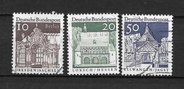 GERMANIA Germany N. 391-392-394US 1967