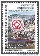 Andorra Español 2005 Yvert 312 Neuf ** Cote (2015) 1.00 Euro Vallée De Madriu - Perafita - Claror