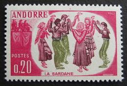 LOT R3586/767 - ANDORRE FRANCAIS - N°166 - Neuf ** - Cote : 5,50 €
