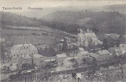 Trois-Ponts - Panorama (animée, Edit Coop. 1920 Vue Sur Gare ?) - Trois-Ponts