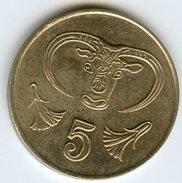 Chypre Cyprus 5 Cents 1994 KM 55.3 - Cyprus