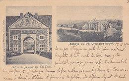 Abbaye Du Val-Dieu (lez Aubel) (précurseur, Multi Vues 1900, Edit. Alphonse Willems) - Aubel